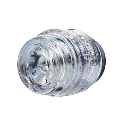 Fleshlight Quickshot Pulse Clear Open Ended Stroker