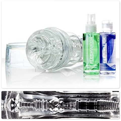 Fleshlight Torque Ice Value Pack - Clear Stroker Kit