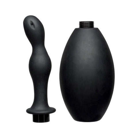 Kink by Doc Johnson FLOW FLUSH Douche Nozzle and Silicone Bulb