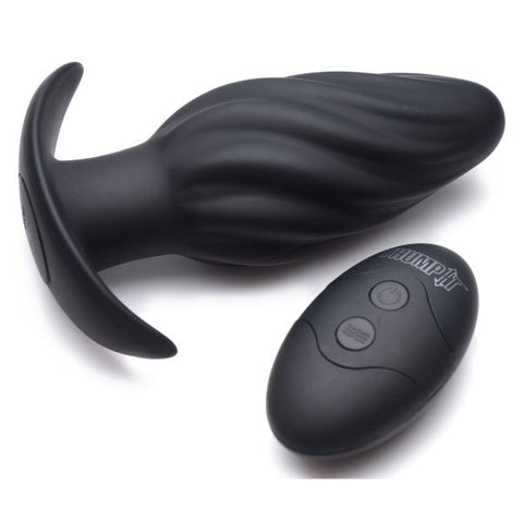 Kinetic Thumping Swirled Anal Plus 7X Vibrations and Remote
