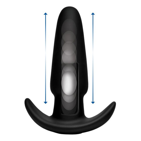 Kinetic Thumping Remote Anal Plug