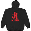 Kink Logo Zip Hoodie - American Apparel Hooded Sweatshirt