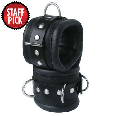 Kink's Deluxe Padded Slave Ankle Cuffs