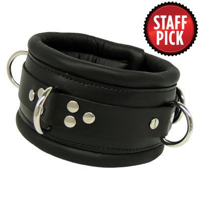 Kink's Deluxe Padded Slave Collar