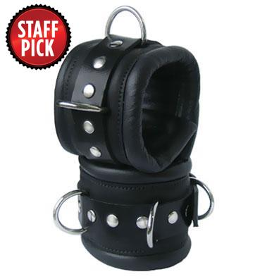 Kink's Deluxe Padded Slave Wrist Cuffs