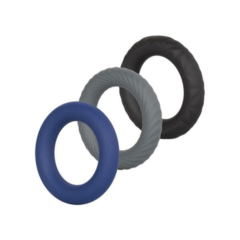 Link Up Ultra Soft Silicone Extreme Cock Ring Set