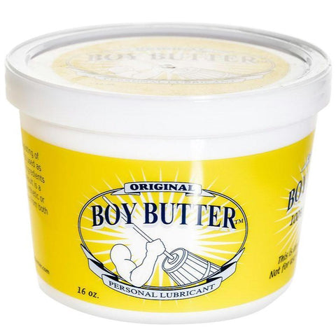 Boy Butter Lubricant Tub - 16 oz