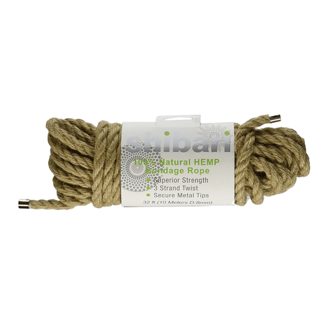 Shibari 100% Natural Hemp Bondage Rope