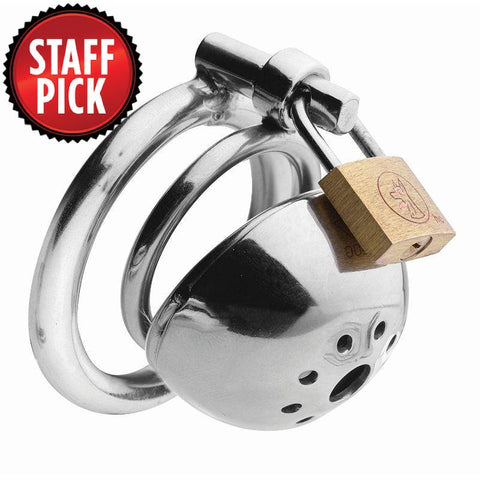 "Solitary Extreme Confinement 2.5"" Short Chastity Cage"