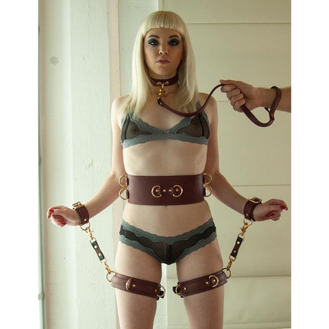 Stockroom's JT Collection Leather Thigh Cuffs