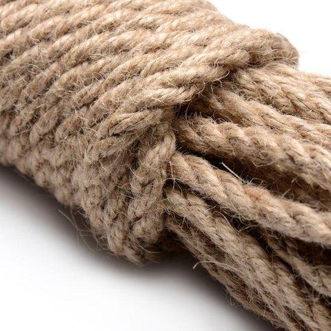 Sub-Tied Hemp Bondage Rope - 32 ft