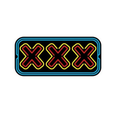 XXX Enamel Pin by Wood Rocket