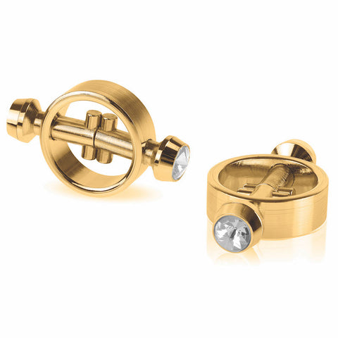 Fetish Fantasy Gold - Magnetic Nipple Clamps
