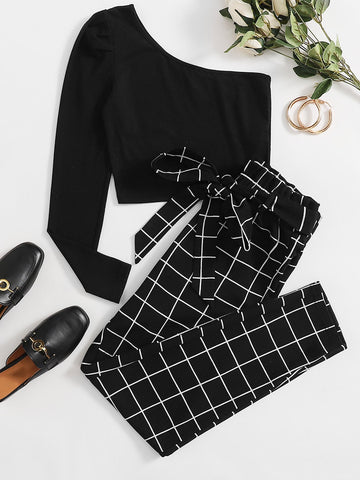 Womens Top & Pants Set