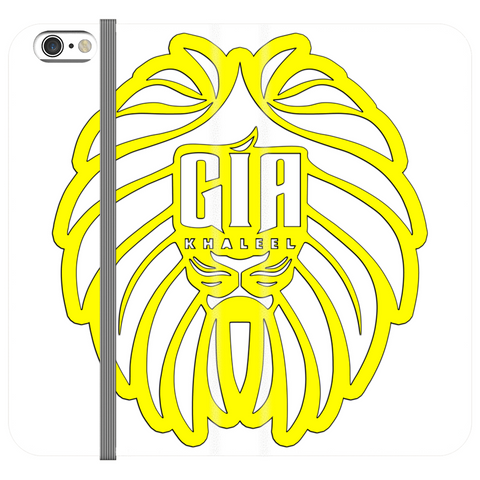 Gia K Yellow Logo Phone Cases