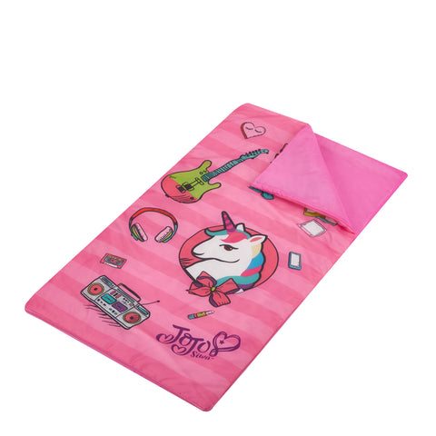 Jojo Siwa Sleeping Bag W/Eye Mask Set