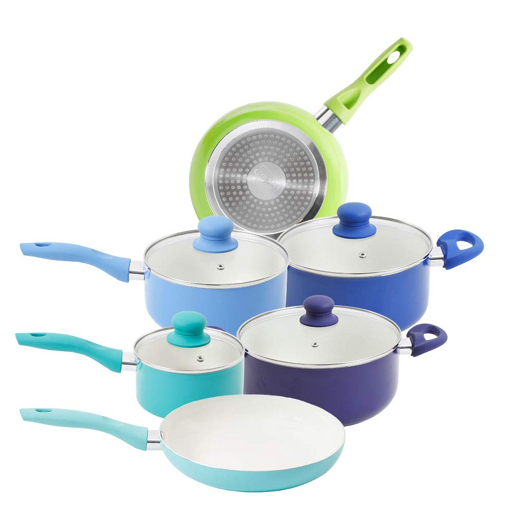 Mainstays 10 Piece Cookware Set
