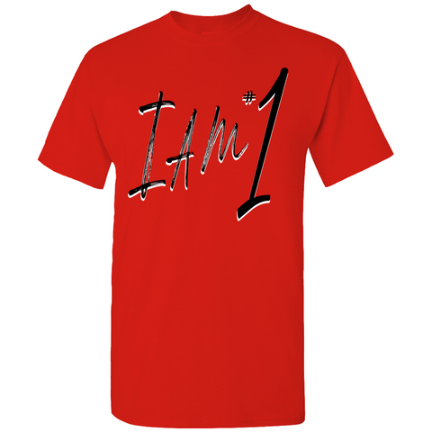 Jo'Iam I Am #1 Paint True Fan Drip T-Shirt