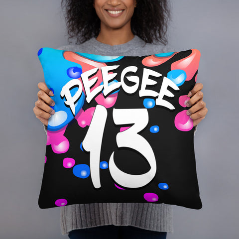 PeeGee13 Baby Bubbles Pillow
