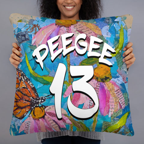 PeeGee13 Butterfly Pillow