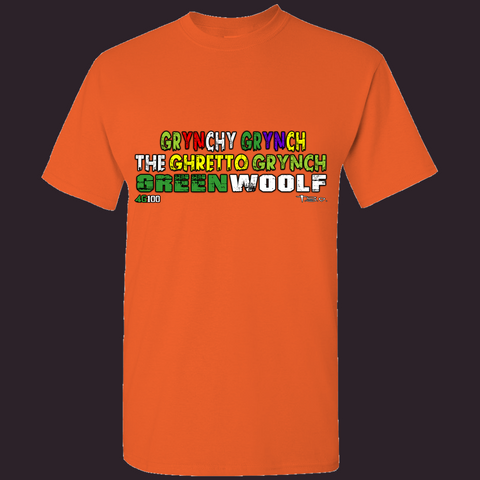 GRyNCHy GREENWOOLF BILLBOARD T-SHIRT #GGGG