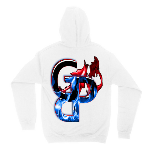 Graphic Dziner Pro Flames GDP Hoodie