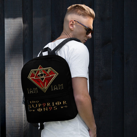 I Am Supr9rior Backpack