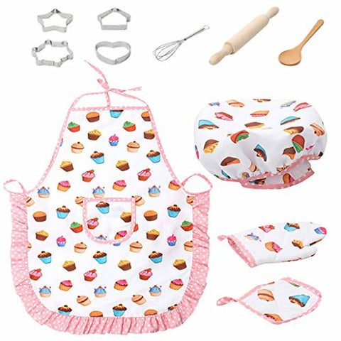 Kids Baker Chef Cooking Set