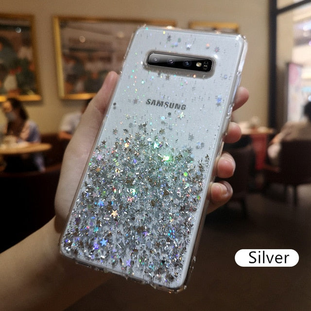 Crystal Phone Case S10 S9 S8 Plus S 10