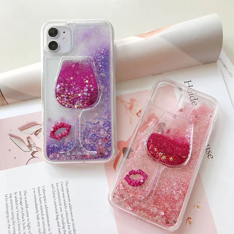 Sexy Wine Lovers Phone Cases