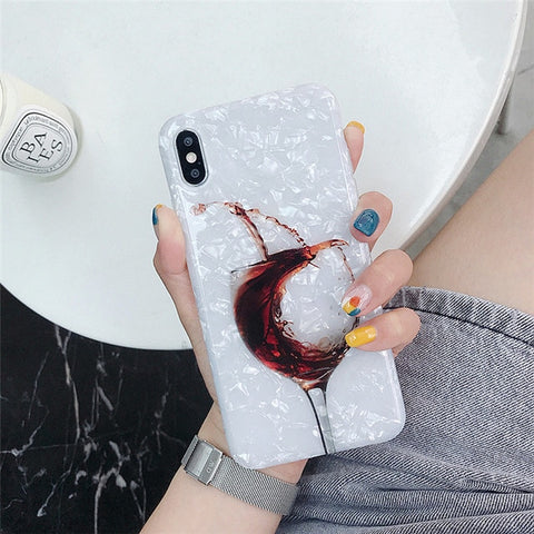 Red Wine Phone Cases