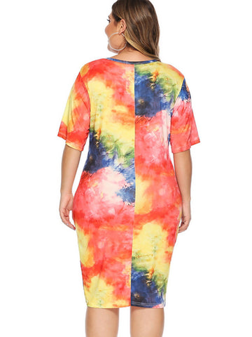 Tie Die Your Style Dress