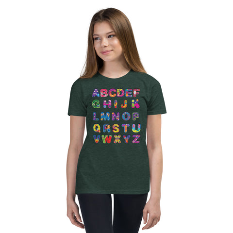 PeeGee13 Colorful Abc T-Shirt