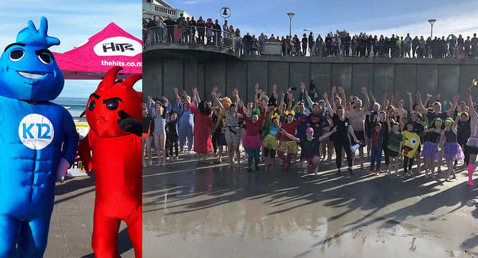 Great turnout for BLIS Probiotics mid-winter Polar Plunge