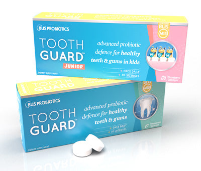 ToothGuard with BLIS M18 dental probiotics