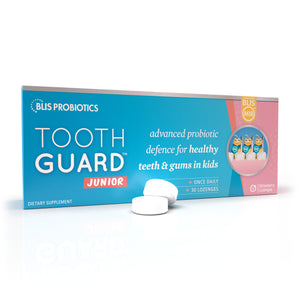Tooth Guard Junior - advanced probiotic defence for healthy teeth & gums in kids