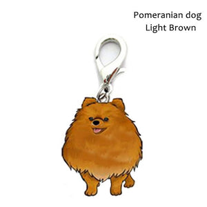 Dog Shape Collar Tag