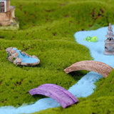 Garden Miniature Figurines Resin Lawn