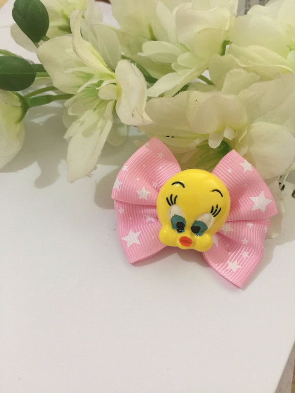 Cartoon Bow Flower Hairpin