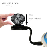 Mini USB  3D Rechargeable LED Night Light