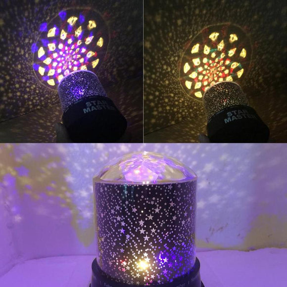Romantic Starry Sky LED Moon Light