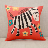Giraffe Throw Pillow Case
