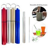 Telescopic Straw Set