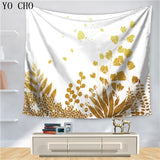 Leaves Nordic Printed Wall Hanging Tapestries
