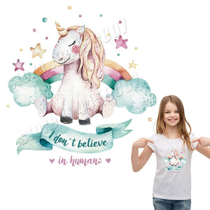 Unicorn Parches Printed Stickers