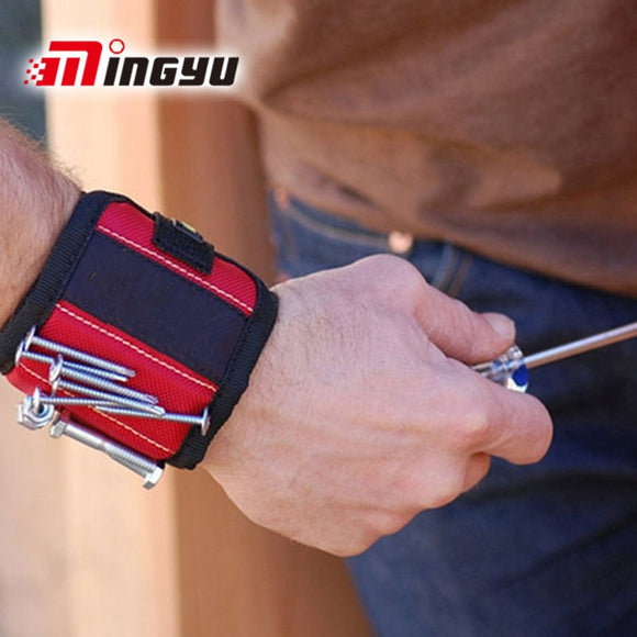 Magnetic Wristband For Repairing Tools