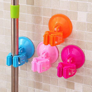 Adhesive Wall Mounted Mop Holder