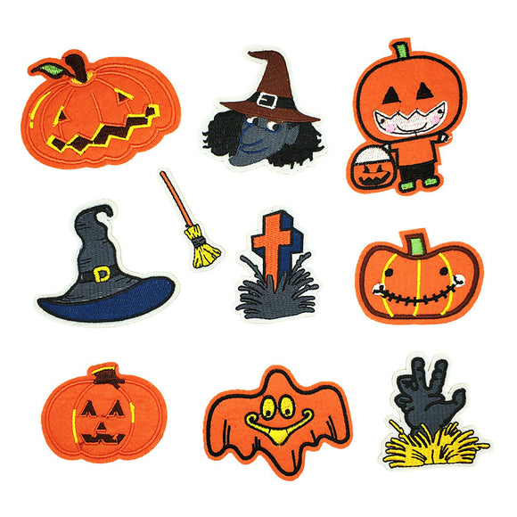 Halloween Patches For Clothes