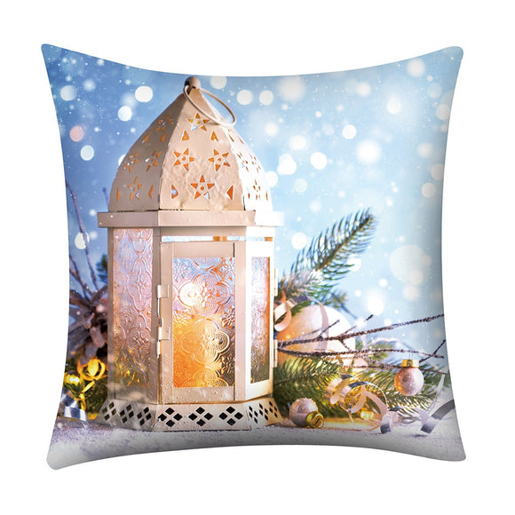 Luxury Print Throw Pillow Case Cover