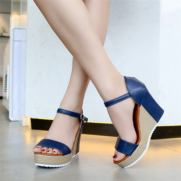 Buckle Strap High Heel